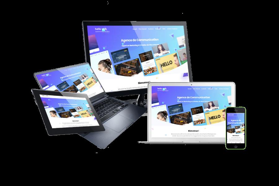 responsif design pour site